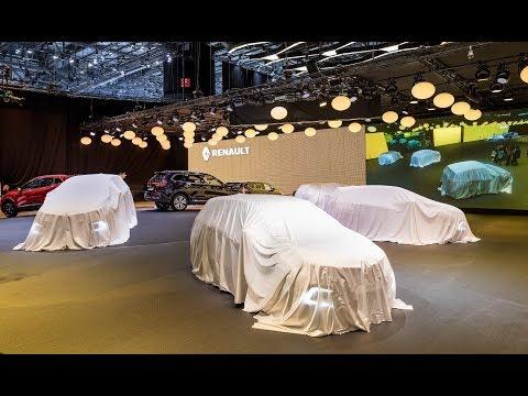 Conférence de presse Renault - En direct du Salon International de Francfort 2017