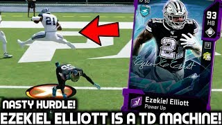 EZEKIEL ELLIOTT HURDLES & JUKES EVERYBODY! Madden 20 Ultimate Team