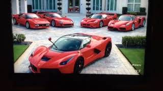 Ian Poulter and his cars