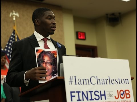#IamCharleston: Victims and Families Demand a Vote