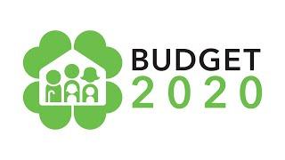Singapore Budget 2020 - Live webcast (Without Sign Language Interpretation)