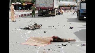 Báo Vĩnh Long| Tai nạn giao thông nghiêm trọng trên QL1: 1 người tử vong tại chỗ
