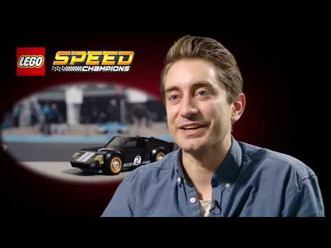 Interview with LEGO Speed Champions head of design, Craig Callum