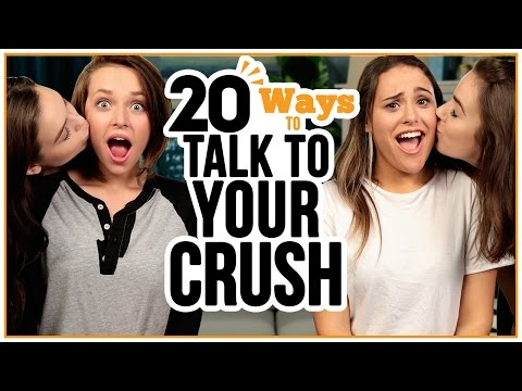 20 Ways to Talk to Your CRUSH - w/ Alexis G. Zall and Ayydubs