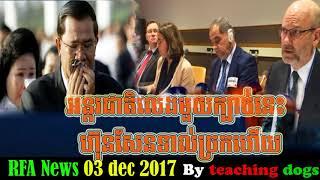 អន្តរជាតិលេងមួយក្បាច់នេះ ហ៊ុនសែនទាល់ច្រកហើយ, RFA Khmer News Today, Cambodia News
