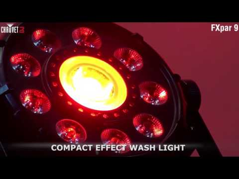 Chauvet DJ FXpar 9 Compact Multi Effect Par Light