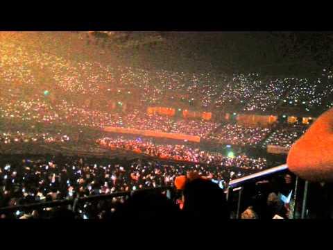 150621 Thai EXO-L singing เบาเบา (Bao Bao) - The EXO'luXion in Bangkok