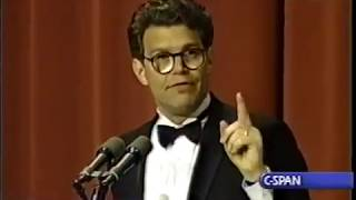 Comedian and Future Senator Al Franken With a Hilarious Performance at the 1996 WHCP