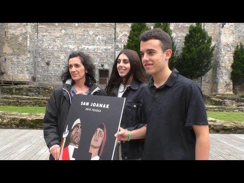 """Xabier Isasti eta Irune Eliceguiren """"Erraldoiak"""" lana izango da San Joanetako kartel iragarlea"""