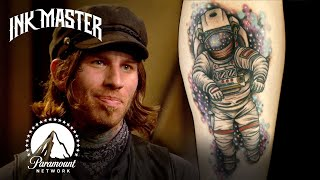 Best (& Worst) Space Tattoos 🚀 Ink Master | #ParamountPlus