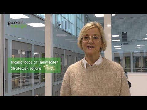 Green Cargo 20 år - Ingela Roos af Hjelmsäter
