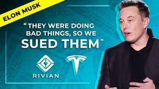 Elon Musk Explains Rivian Lawsuit, Tesla Short/Long Term Goals, Succession Planning (TSLA)