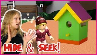 Playing Hide & Seek Inside a BIRD HOUSE!