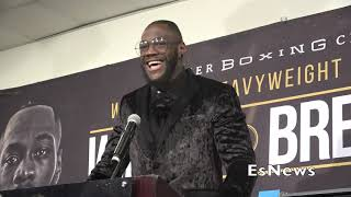 eavyweight Champ Deontay Wilder Who He Want Next EsNews Boxing