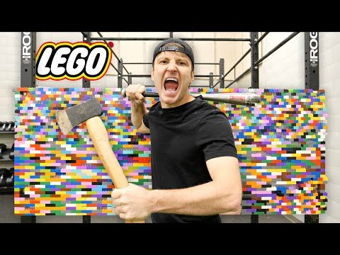 100 LAYERS OF LEGO (DANGER ALERT) UNBREAKABLE WALL