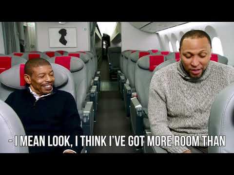 NBA Legends in the Norwegian Premium Cabin