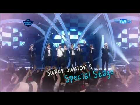 120802 Mnet  M!CountDown Super Junior Special Stage  - Mr. Simple + Sexy, Free & Single + SPY