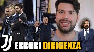 Dirigenza Juventus: TUTTI GLI ERRORI che hanno portato a questa situazione 📝Agnelli Paratici Nedved