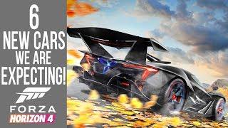 Forza Horizon 4 - 6 NEW Cars we are EXPECTING SOON!