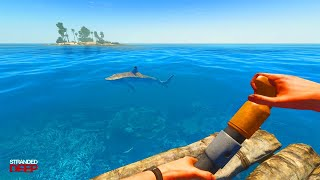 I GOT LOST AT SEA (Stranded Deep Playthrough)