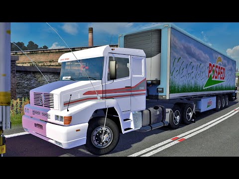 Viagem de Mercedes Benz - Euro Truck Simulator 2