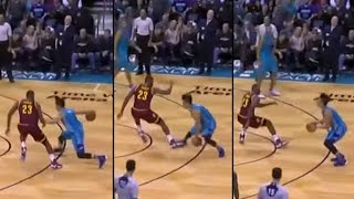 LeBron James gets crossed up + extras(compilation)