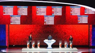 LIVE STREAM | 2018 FIFA World Cup Russia™ - Final Draw | 18:00 Local Time (16:00 CET)