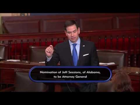 On Senate Floor, Rubio Pushes for Keeping Sanctions on Russia