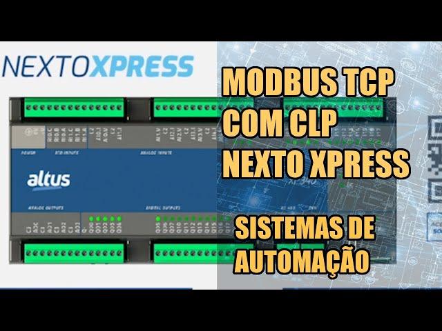 COMUNICAÇÃO MODBUS TCP NO CLP NEXTO XPRESS