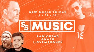 New Music Friday 1-11-19: Radiohead Drops An Old/New Single!   Sight & Sound Music