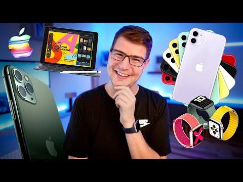 Erster Eindruck: iPhone 11, Pro & Max, Apple Watch 5 & iPad 7! - felixba