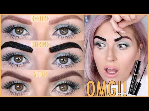 "DIY EYEBROW TATTOOS""! ? First Impression DOES IT WORK""! ? Secret Key Self Brow Tattoo ?"
