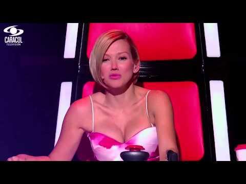 Valentina canto 'Aleluya' de Leonard Cohen – LVK Colombia – Audiciones a ciegas – T1