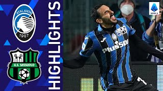 Atalanta 2-1 Sassuolo | La Dea edge Sassuolo! | Serie A 2021/22