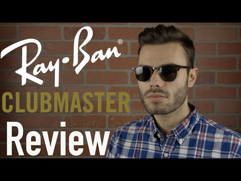 video Ray Ban Clubmaster Sunglasses 0RB3016