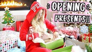 Opening Christmas Presents!! Vlogmas Day 25