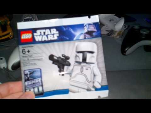 Lego Jango Fett And Boba Fett Lego Star Wars White Boba Fett