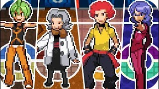 Pokémon Platinum - All Elite Four Battles (1080p60)