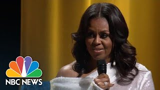 Former First Lady Michelle Obama Describes Life In The White House | NBC News