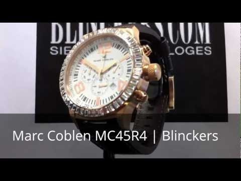Horloge productvideo Marc Coblen MC45R4 | Blinckers.com