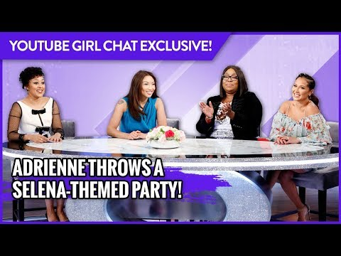 WEB EXCLUSIVE: Adrienne Throws a Selena-Themed Party!