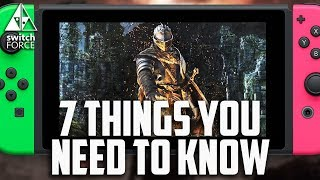 7 Things You NEED To Know About Dark Souls Switch!