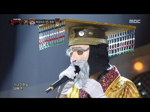[King of masked singer] 복면가왕 - 'Tell them I'm Dragon King' 2round! - Moon of Seoul 20160103