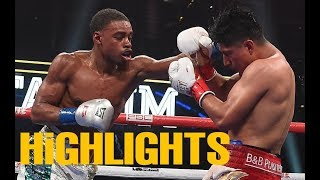 Errol Spence Jr vs Mikey García Highlights