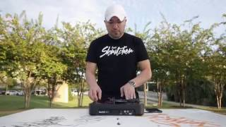 NUMARK PT01 SCRATCH in action