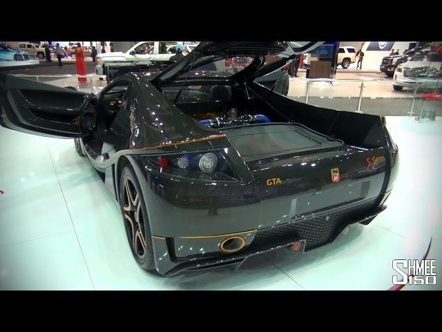 GTA Spano Full Carbon - Dubai Motorshow 2013