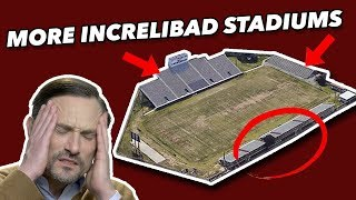 Critiquing the WORST COLLEGE FOOTBALL Stadiums - FCS through Division III