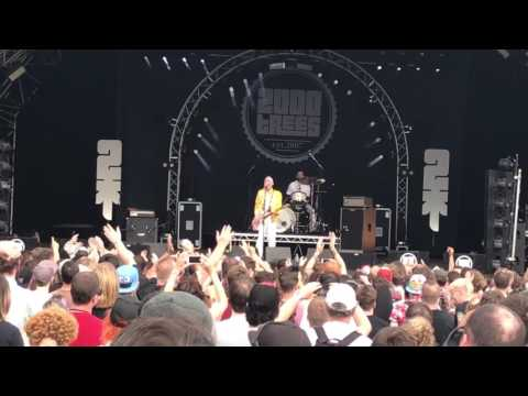 Jamie Lenman - Fat Bottomed Girls (and boys) - 2000 Trees 2017