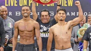 Errol Spence Jr vs. Mikey Garcia FULL WEIGH IN & FINAL FACE OFF | Fox PBC