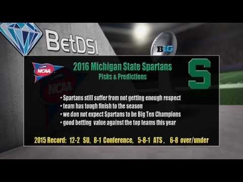 2016 NCAA Betting | Michigan State Spartans Team Preview and Odds